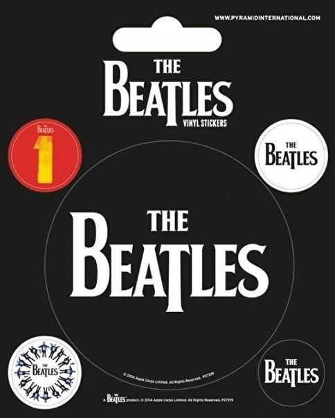 Pyramid International The Beatles (Black) Etiket Renkli